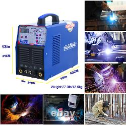 Pulse ARC Welding Machine 3In1 Multi-Functionarc TIG MIG MMA Weld Aluminum 230v