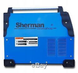 SHERMAN MIG 200M 200Amp inverter welder MIG MAG FCAW ARC MMA GAS IGBT Brazing