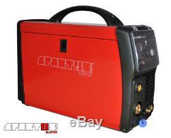 SPARTUS MasterMIG 200PFC Multiprocess MIG MAG TIG MMA ARC Pulse Welder Inverter