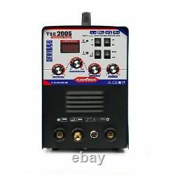 Schweißgerät AC DC WIG 200A IGBT TIG MMA ARC Elektrode Alu IGBT INVERTER WELDER