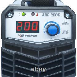 Schweißgerät ARC 200K Elektrodenschweißgerät 200 A MMA IGBT
