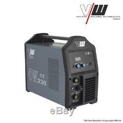 Schweißgerät DC WIG 200A Mit Plasma 50A Inverter Welder ARC MMA Vector OW230