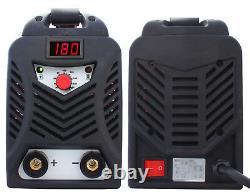 Schweißgerät inverter HALO IGBT ARC MMA 180A Welder 230V mit Schweißhelm blau