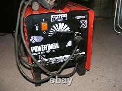 Sealey 160XT fan cooled MMA / stick / arc welder