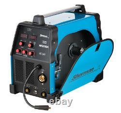 Sherman Inverter MIG200M 200Amp MMA Brazing ARC MIG/MAG Digital Welder Welding