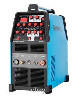 Sherman TIG 210 AC/DC pulse MMA ARC IGBT Inverter Pulse Welder SET Food Pedal