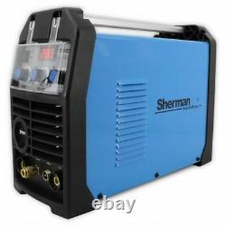 Sherman workshop TIG DC 202P Inverter Welder PULSE MMA ARC HF 200AMP