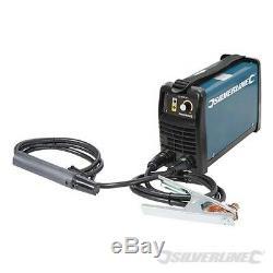 Silverline Heavy Duty 200A 200A MMA Inverter Arc Welder Kit 103597