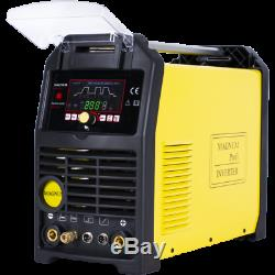 THF 224 AC/DC Inverter Schweißgerät 200A WIG lift/HF/Pulse/MMA/2T4T/ARC Force