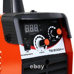 TIG 200A ARC Welder Inverter MMA 220V DC 200amp Welding Machine