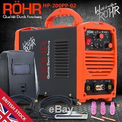 TIG ARC Welder Inverter MOSFET MMA 240V / 200 amp, DC Portable Machine ROHR 02