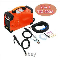 TIG MMA ARC Welder TIG 200A Welding Machine Welder Inverter 220V UK Plug