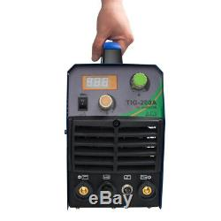 TIG/MMA/ARC Welding Machine 200A IGBT Inverter HF Welder Portable Househood 220V
