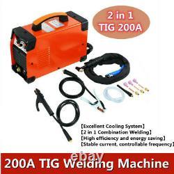 TIG MMA IGBT ARC Welder 200A TIG Welding Machine Welder Inverter 220V DC 200amp