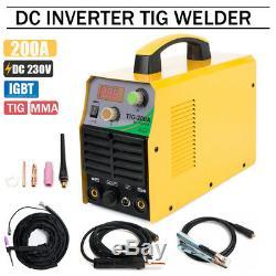 TIG MMA Welding Machine 200Amp DC Inverter ARC Stick IGBT TIG Welder with Torch
