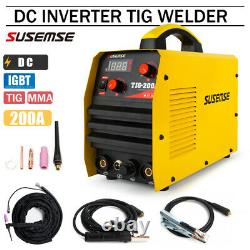 TIG Welder TIG/MMA ARC Welder 110V/220V 200A DC Inverter Welding Machine
