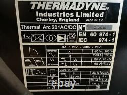Thermal Arc 201 230v 200A AC/DC TIG Stick MMA Welder made in EU not ESAB Miller