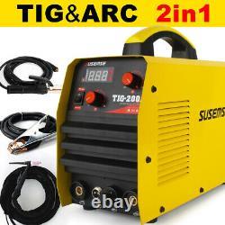 Tig 200a Igbt Inverter DC Welder Hf Ignition 2-in-1 Mma Arc Welding Machine