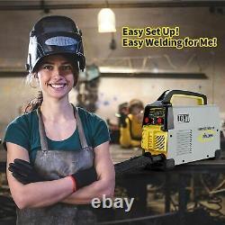 Tig Arc Welder 220v-240v 200amp 2 in 1 Welding Machine Stick MMA Arc Welding DC