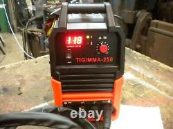 Tig welder 250amp MMA or arc 2 in 1 welder