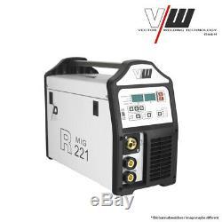 VECTOR Schweißgerät DC MIG MAG R221 Inverter ARC MMA STICK Elektrode WELDER 5KG