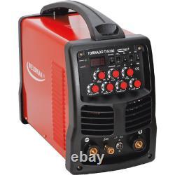 WELDMAN TORNADO TIG 200 AC/DC Pulse Inverter Welder MMA ARC HF IGBT 230V 50Hz