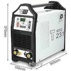 WIG Schweißgerät DC WIG T231 Puls Inverter HF TIG ARC MMA STICK T231