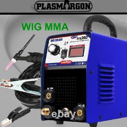 WIG Schweißgerät DC WIG TIG-200 200 Amp IGBT MMA ARC INVERTER WELDER 230V