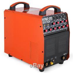 WSME-200 200 Amp IGBT PULSE HF Inverter AC DC TIG MMA ARC Stick Aluminum Welder