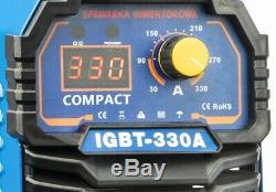Weld Master 330 AMP Welder Inverter IGBT Manual Arc Welding MMA PWN