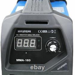 Welder 160 Amp MMA ARC Inverter Portable Stick DC 16 Amp Plug