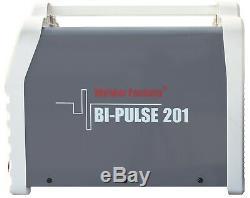 Welder Fantasy 3in1 Bi-Pulse 201 Welder PULSE MIG MAG FCAW ARC MMA IGBT 200Amp