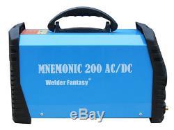 Welder Fantasy MNEMONIC TIG AC/DC 200A MMA ARC Welder Fantasy 2T/4T HF HS
