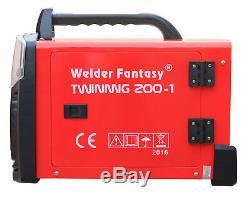 Welder Fantasy TWINMIG 200 Schweißgerät MIG MAG 200amp FCAW ARC MMA IGBT