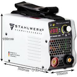 Welder STAHLWERK ARC 200 MD IGBT Full Equipment Set STICK MMA Welding 200 A