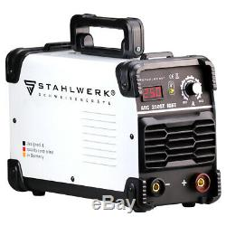 Welder STAHLWERK ARC 250 ST IGBT STICK MMA Welding with real 250 Ampere