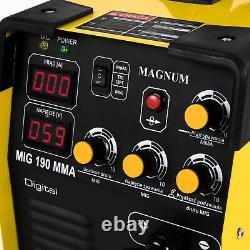 Welder Welding Machine Portable Inverter 200A Arc MIG MMA Magnum 190 TIG Torch