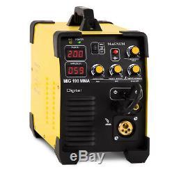 Welder Welding Machine Portable Inverter 200A Arc MIG TIG MMA Magnum MIG 190