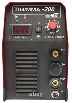 Welding machine ARC MMA inverter HALO 3 TIG / MMA 200A IGBT Welder Fantasy