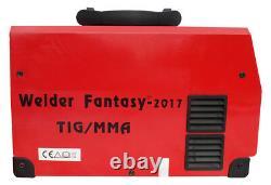 Welding machine ARC MMA inverter HALO 3 TIG / MMA 200A IGBT Welder Fantasy + vis